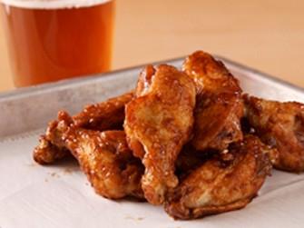 Root Beer Glazed Chicken Wings