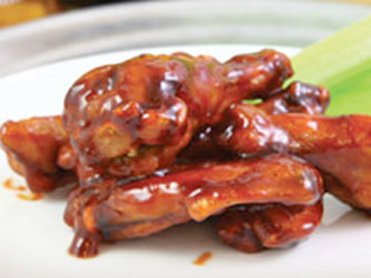 Whiskey Dunked Wings