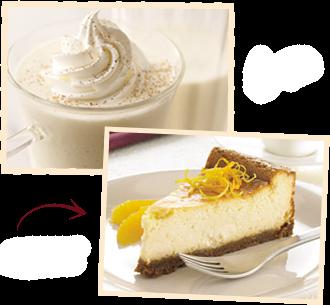 Eggnog-Citrus Cheesecake