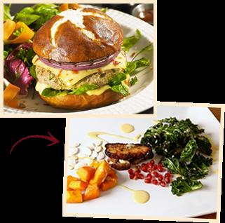 Crispy Kale & Roasted Squash Salad