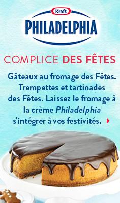 Complice des Fêtes - Gâteaux au fromage des Fêtes. Trempettes et tartinades des Fêtes.