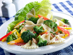 Bacon-Caesar Pasta Salad