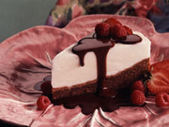 Frozen Brownie Creamcake