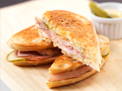 Cuban Chicken Grilled Cheese image