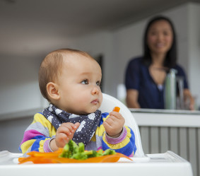 Feeding your baby: 8 months and over