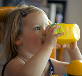 My toddler drinks a lot of milk, but is fussy with food!