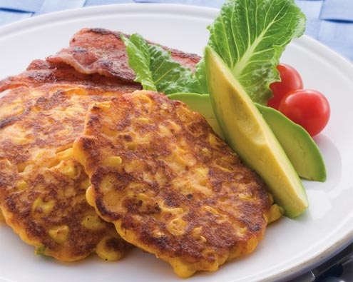 Cajun Corn Potato Fritters