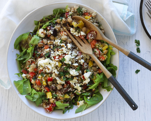 Mediterranean Spring Power Salad