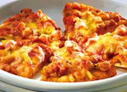 Mexican Bean Pizza