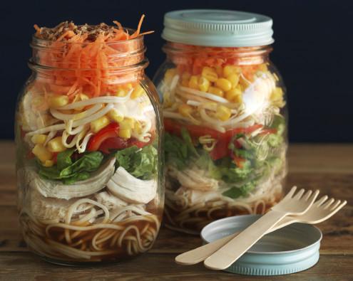 Soy & Citrus Soba Noodle Salad