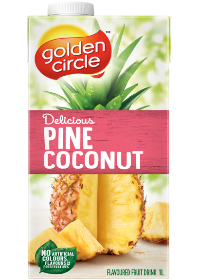 Pine Coconut Fruit Drink