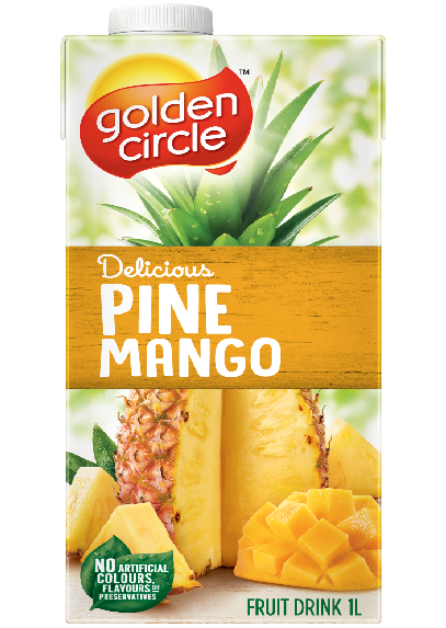 Pine Mango Fruit Drink