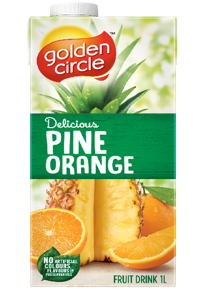 Pine Orange Fruit Drink