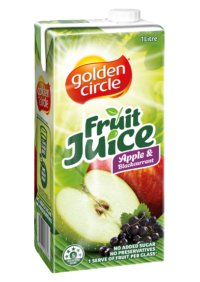 Fruit Juice-Apple & Blackcurrant image