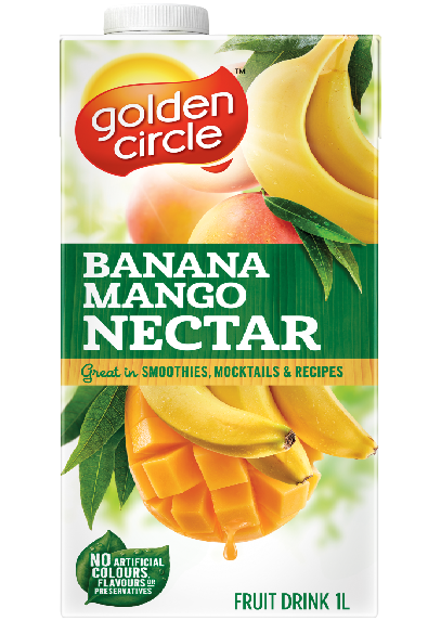 Banana Mango Nectar Fruit Drink image