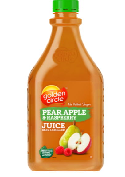 Pear Apple Raspberry Juice image