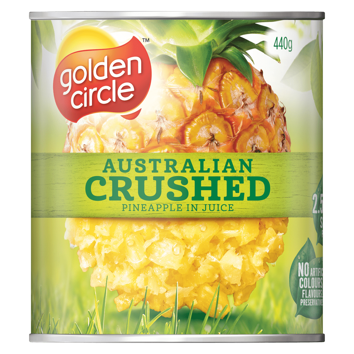 Crushed in Natural Juice 440gm image