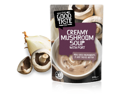 Creamy Mushroom Soup with Port 600g image