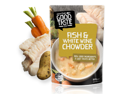 Fish & White Wine Chowder 600g image