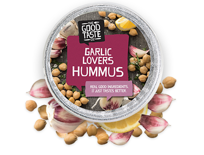 Garlic Lovers Hummus 200g