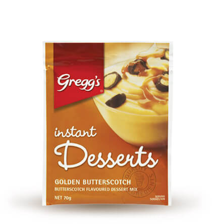 Golden Butterscotch Instant Dessert image
