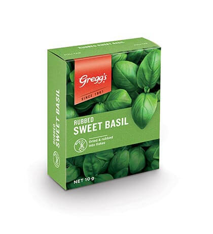 Rubbed Sweet Basil image
