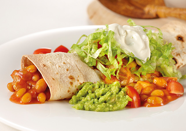 chicken-and-bean-burritos