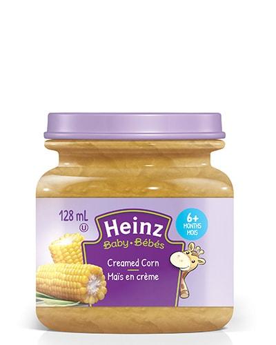 Maïs en crème