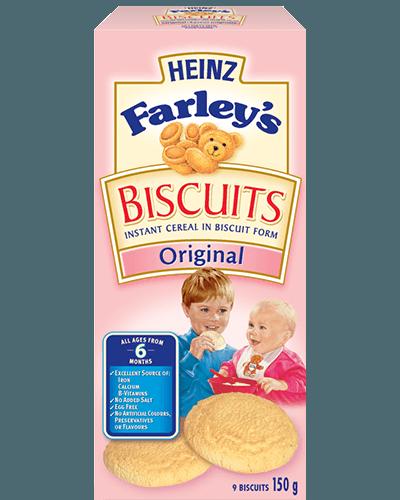 Biscuits Farley's de Heinz à saveur originale