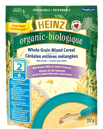 Organic Whole Grain Mixed Cereal title=