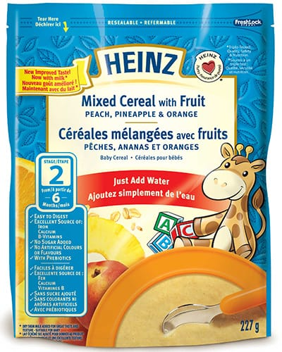 Mixed Cereal with Fruit title=