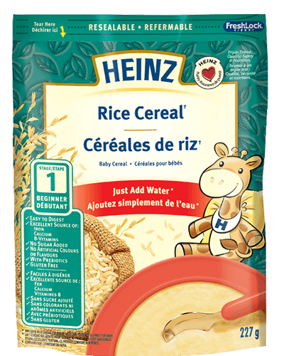 Rice Cereal with Milk