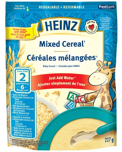 Mixed Cereal title=