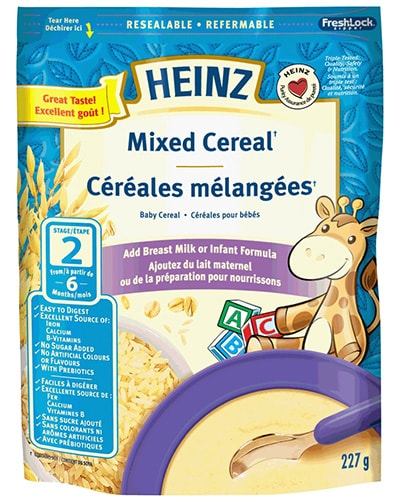 Céréales mélangées