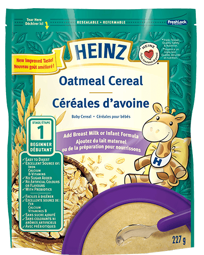 Oatmeal Cereal title=