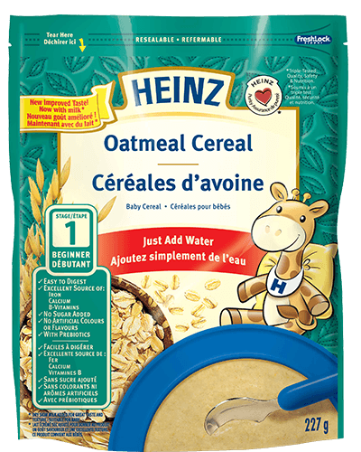 Oatmeal Cereal with Milk title=