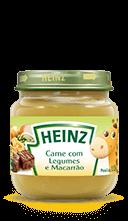 Heinz Papinha de carne com legumes e macarrão