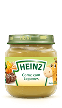 Heinz Papinha de carne com legumes
