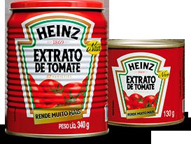Extrato de Tomate Heinz