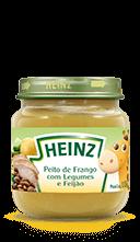 Heinz Papinha de frango com legumes e feijão