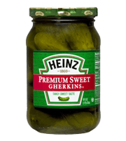 Premium Sweet Gherkins