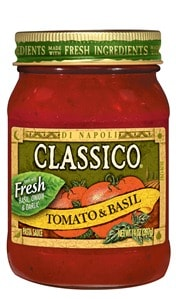 New Product Launch – Classico Tomato and Basil Pasta Sauce