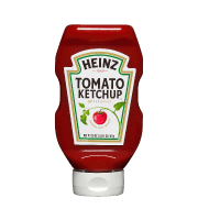 Upside Down Squeezable Ketchup
