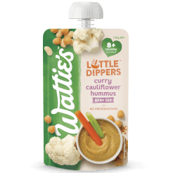 Wattie's Little Dippers Curry Cauliflower Hummus Dip
