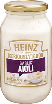 Heinz [SERIOUSLY] GOOD Garlic Aioli 460g
