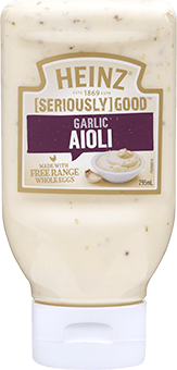Heinz [SERIOUSLY] GOOD Garlic Aioli 295mL