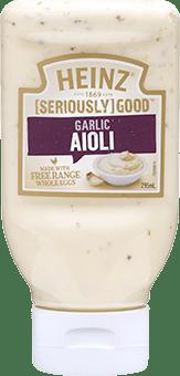 Heinz [SERIOUSLY] GOOD Garlic Aioli 295mL