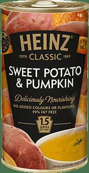 Heinz Classic Sweet Potato and Pumpkin Soup