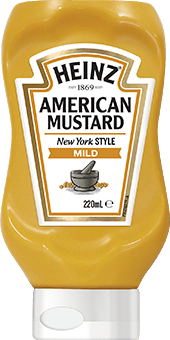 Heinz American Mustard 220mL