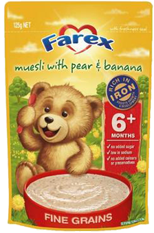 Farex Muesli with Pear & Banana